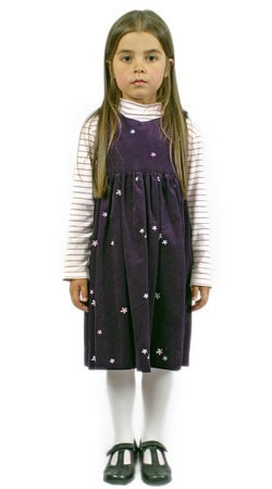 Childrens Classic Corduroy Pinafore