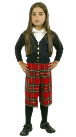 Tartan Culottes / Shorts