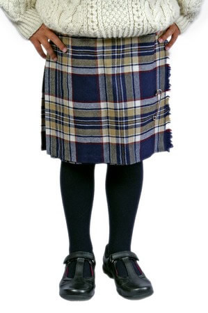 Kilted Shirt for Boys or Girls