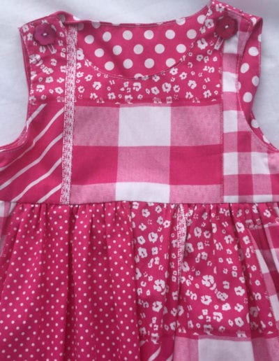 Classic Design Pinafore Pink