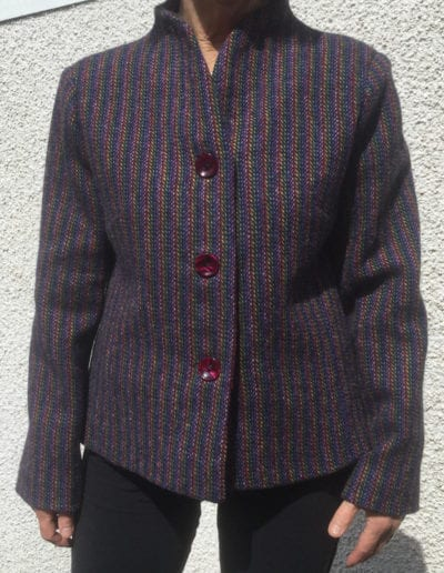 Ladies Harris Tweed Jacket Multi Colour